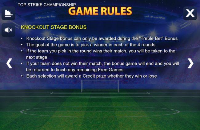 Bonus Game Rule