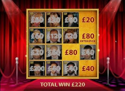 My Win 24 featuring the Video Slots Top Trumps Celebs with a maximum payout of $100,000