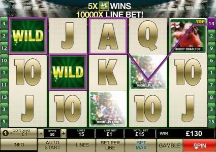 130 coin big win jackpot