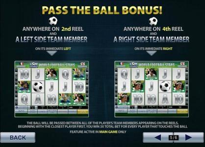 pass the ball bonus