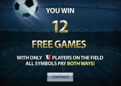 12 free games awarded