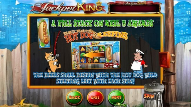 Casiplay featuring the Video Slots Top Cat with a maximum payout of Jackpot