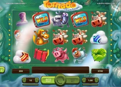 333 Palace featuring the Video Slots Tornado Farm Escape with a maximum payout of $7,000