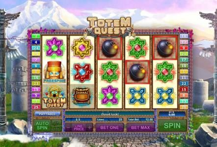 PropaWin featuring the Video Slots Totem Quest with a maximum payout of $10,000