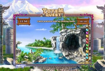 AdamEve featuring the Video Slots Totem Quest with a maximum payout of $10,000