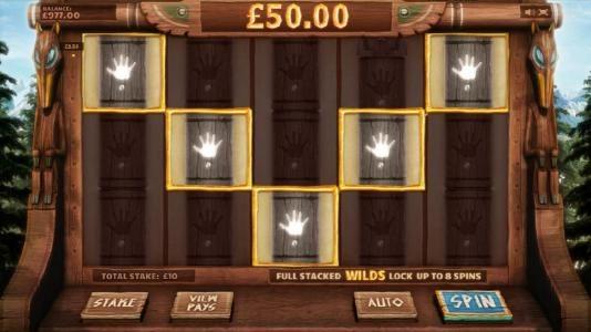 five of a kind triggers a $50 jackpot