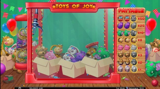 Toys of Joy :: collect three matching animals to win