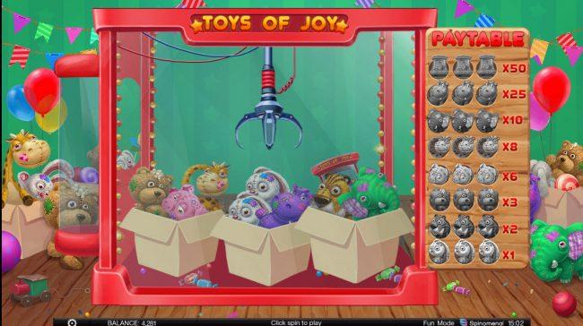 Toys of Joy :: Bonus Feature Game Board