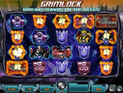Transformers - Battle for Cybertron  :: mystery feature changes symbols into winning symbols