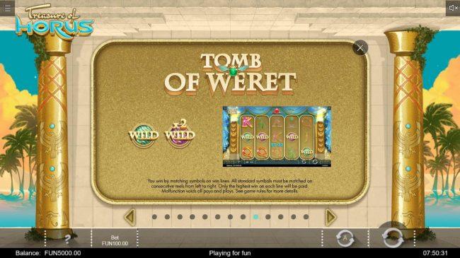 Treasure of Horus :: Tomb of Weret