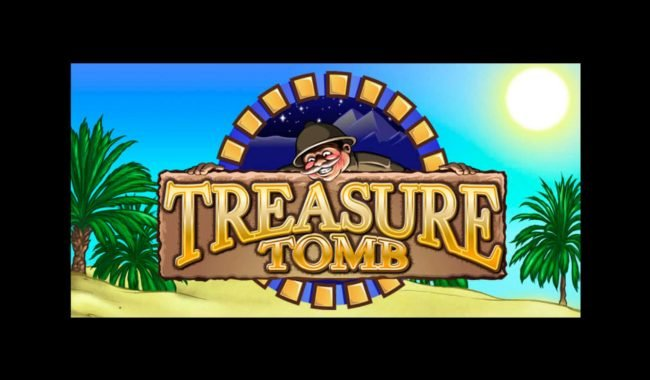 Casinia featuring the Video Slots Treasure Tomb with a maximum payout of $2,500,000