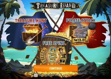 Play slots at Money Reels: Money Reels featuring the Video Slots Treasure Island with a maximum payout of $2,000