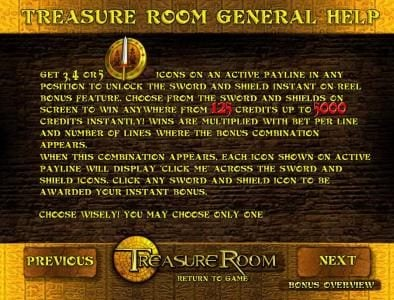 Treasure Room :: general game help continued
