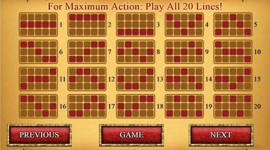 My Touch featuring the Video Slots Treasures of King Arthur with a maximum payout of $250.000