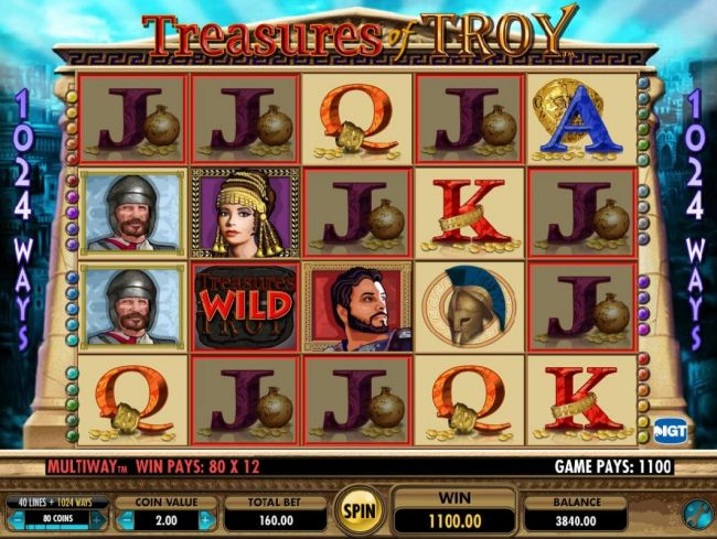 Treasure Of Troy Slot Machine Free