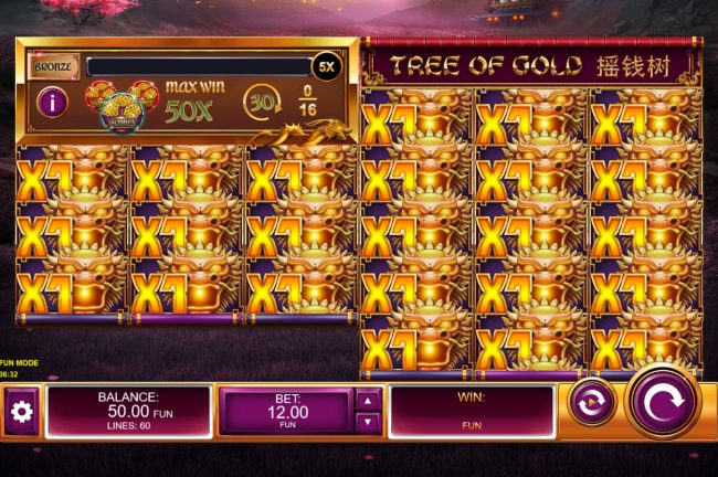 Tree of Gold :: Main Game Board
