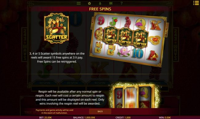 Money Reels featuring the Video Slots Tree of Fortune with a maximum payout of $100,000