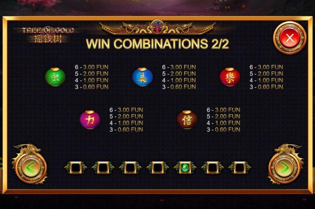 Tree of Gold :: Low Value Symbols