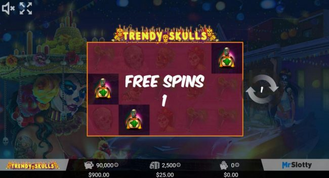 ReelTastic featuring the Video Slots Trendy Skulls with a maximum payout of $200,000