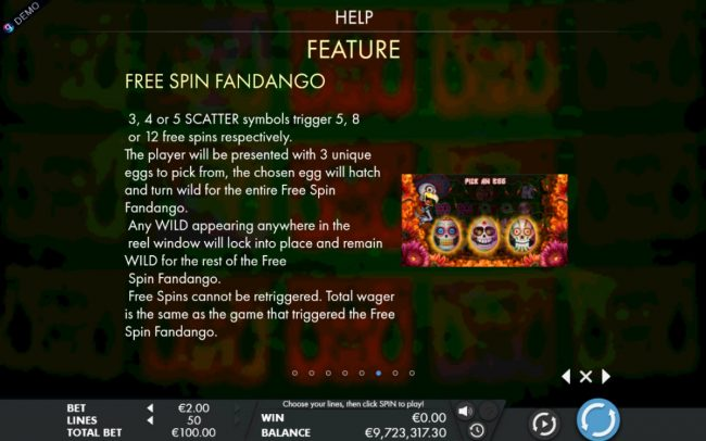 Instacasino featuring the Video Slots Tres Huevos with a maximum payout of $75,000