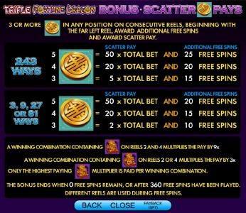 bonus scatter pays