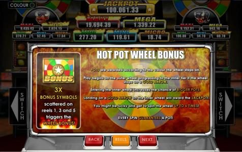Fly Casino featuring the Video Slots Triple Inferno with a maximum payout of Jackpot