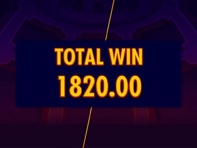 Total Free Games Win 1,820.00