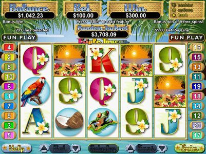Play slots at Slots of Vegas: Slots of Vegas featuring the Video Slots Triple Toucan with a maximum payout of $250,000