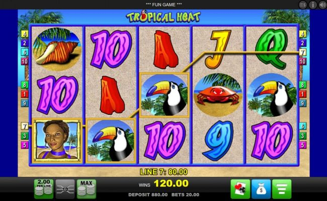 Spiele Tropical Heat - Video Slots Online