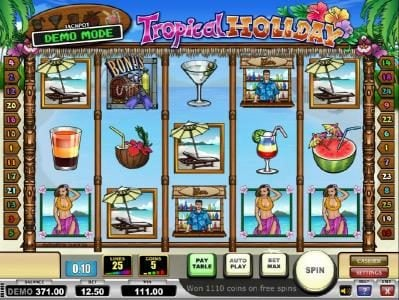 Play slots at Lapalingo: Lapalingo featuring the Video Slots Tropical Holiday with a maximum payout of Jackpot