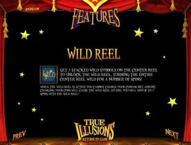 Black Diamond featuring the Video Slots True Illusions 3D with a maximum payout of $3,750