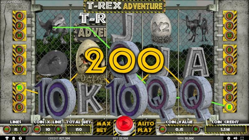 T-Rex Adventure :: Three of a kind