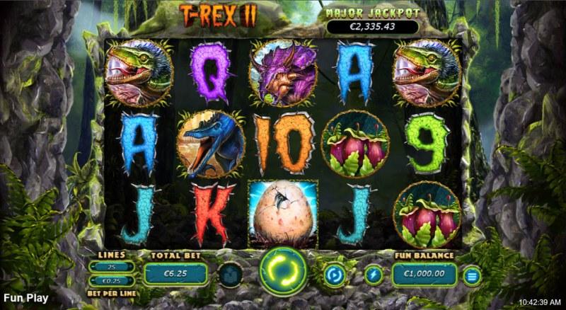 T-Rex II :: Main Game Board