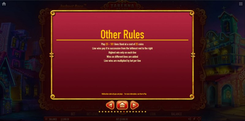 Taberna De Los Muertos Ultra :: General Game Rules