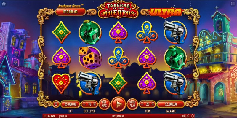 Taberna De Los Muertos Ultra :: Main Game Board