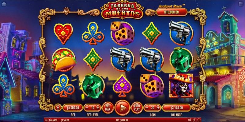 Taberna De Los Muertos :: Main Game Board