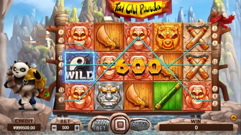 Tai Chi Panda :: Multiple winning paylines