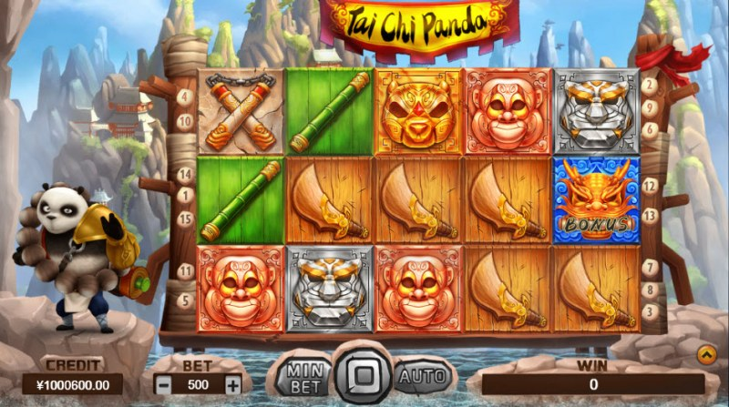 Tai Chi Panda :: Main Game Board