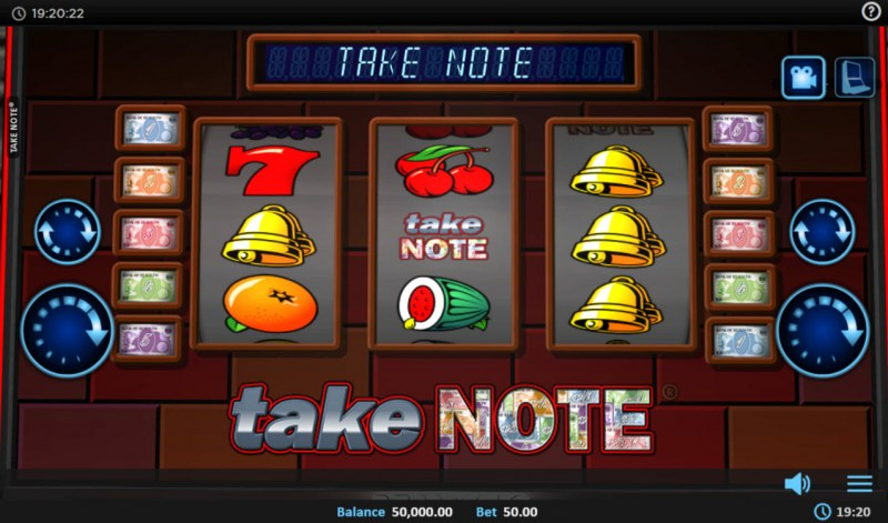 Take Note :: Main Game Board