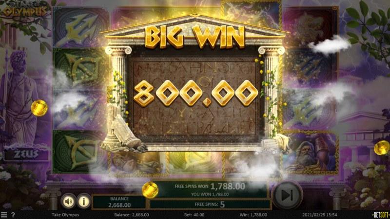 Take Olympus :: Big Win
