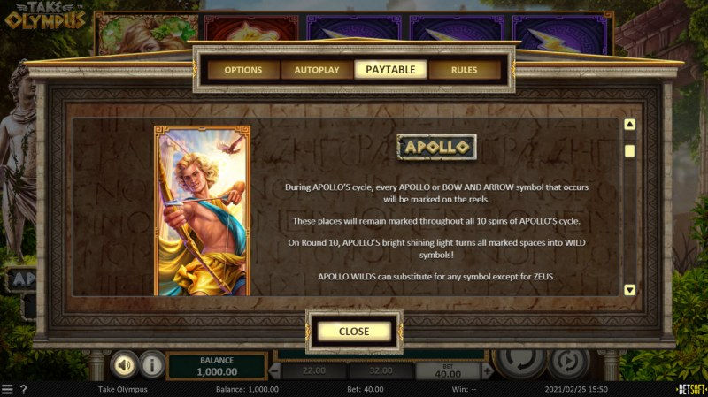 Take Olympus :: Apollo