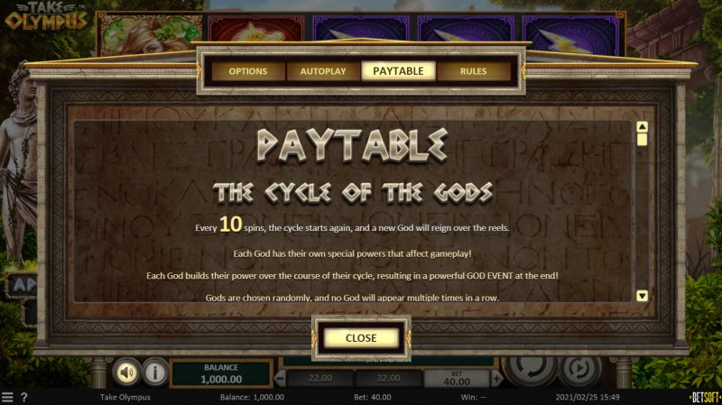 Take Olympus :: Cycle of the Gods