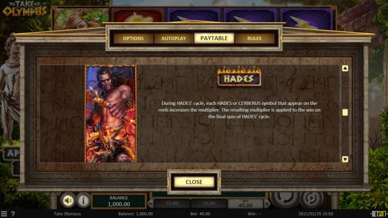 Take Olympus :: Hades