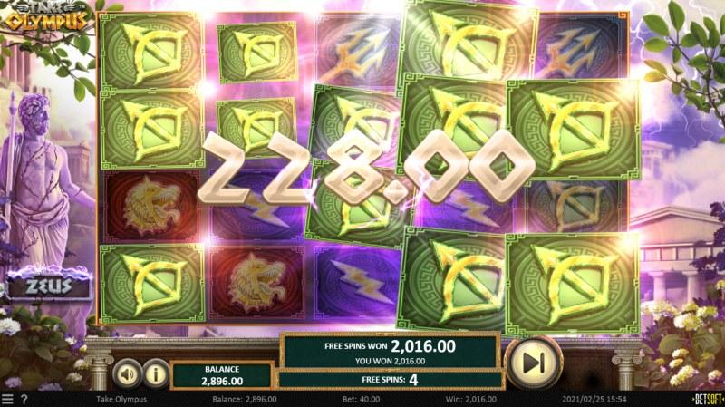 Take Olympus :: Multiple winning paylines