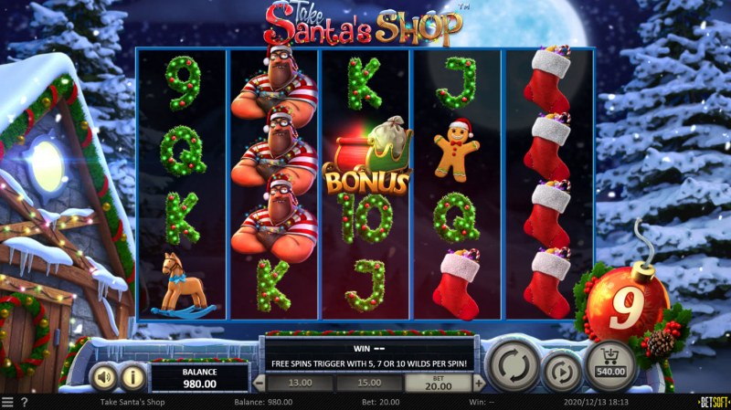 Take Santa's Shop :: Holiday Robber turns into sticky bombs