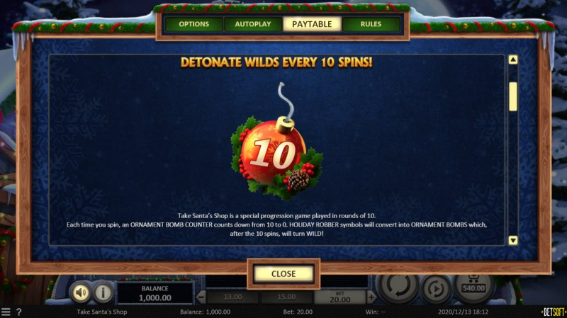 Take Santa's Shop :: Ornament Bomb Feature