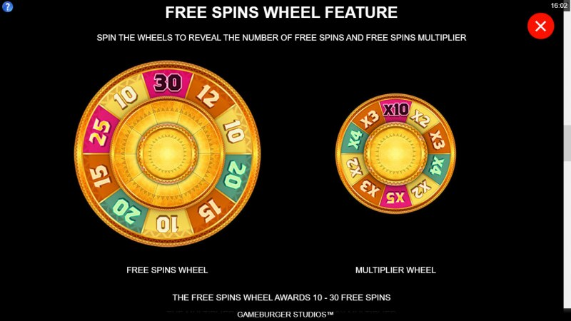 Tarzan and the Jewels of Opar :: Free Spin Feature Rules