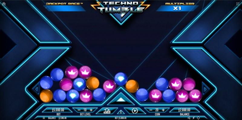 Techno Tumble :: Main Game Board