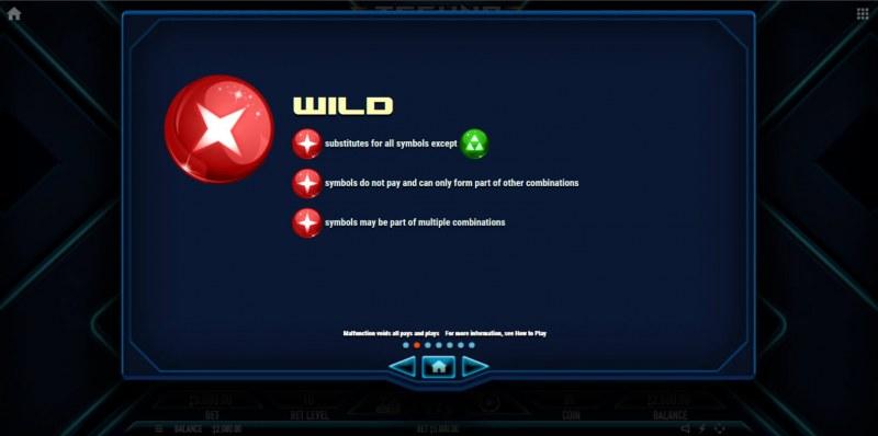 Techno Tumble :: Wild Symbol Rules