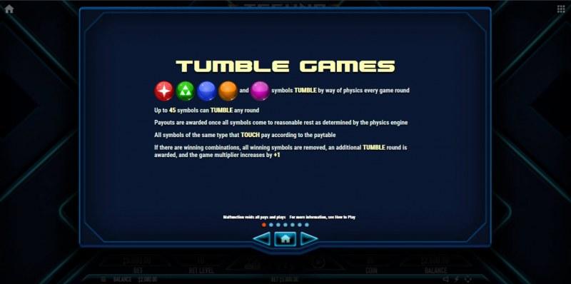 Techno Tumble :: Feature Rules